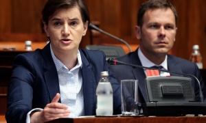 Brnabić: Očekujem da EU i SAD utiču na Prištinu da pokaže ozbiljnost