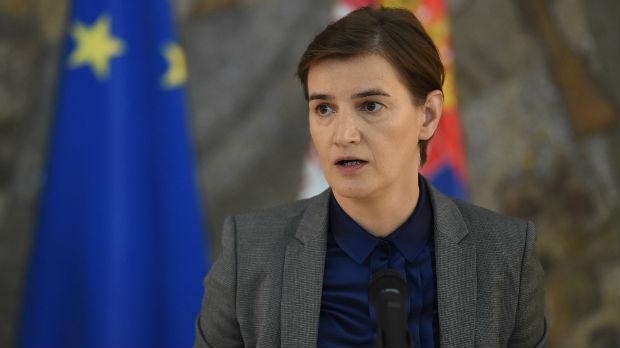 Brnabić: Očekujem da EU i SAD utiču na Prištinu