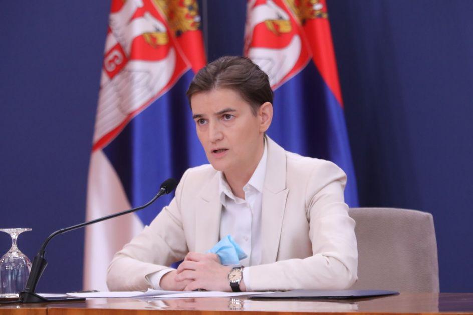Brnabić: Odnosi Beograda i Zagreba izuzetno kompleksni i dalje teški