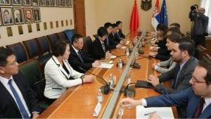 Brnabić: Odnosi Kine i Srbije izvanredni
