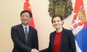 Brnabić: Politički odnosi Srbije i Kine na najvišoj tački