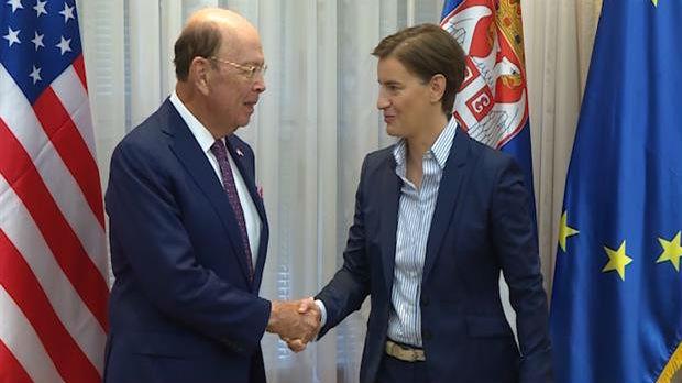 Brnabić: Pravi trenutak za razvoj odnosa Srbije i SAD