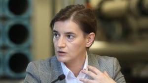 Brnabić: Priština suspednovala CEFTA, Srbija ide u bilateralne sporazume