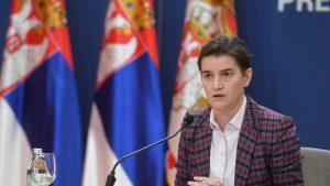 Brnabić: Savršeno mi je jasna poruka Podgorice da su građani Srbije nepoželjni u Crnoj Gori