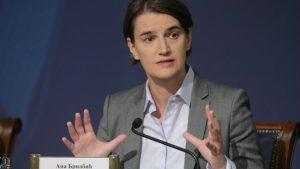 Brnabić: Srbija jeste strpljiva ali sve ima svoj kraj