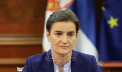 Brnabić: Srbija neće zatvoriti granicu za crnogorske gradjane