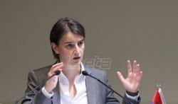 Brnabić: Srbija pozicionirana kao centralna zemlja za saradnju Kine sa EU