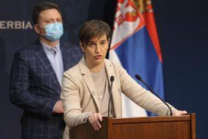 Brnabić: Opozicija dovođenjem u vezu Vučićevog sina sa klanovima destabilizuje državu