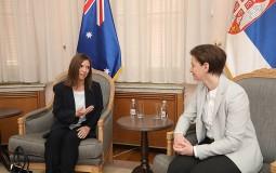 Brnabić i ambasadorka Australije o jačanju ekonomske saradnje