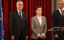 Brnabić i austrijski predsednik na prijemu povodom Nacionalnog dana Austrije