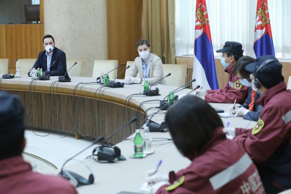Brnabić i kineski stručnjaci: Sve odluke donosićemo zajedno