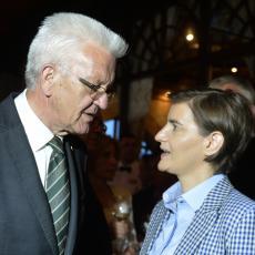 Brnabić na prijemu kod Krečmana: U Baden-Virtenbergu imamo odličnog partnera (FOTO)