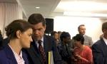 Brnabić na prijemu sa evropskim zvanicnicima i Mičelom