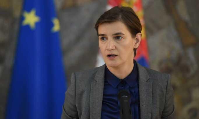 Brnabić očekuje da EU i SAD utiču na Prištinu