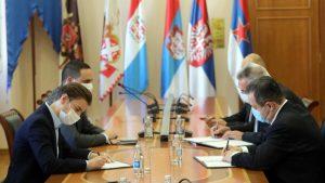 Brnabić preuzela od Dačića dužnost šefa diplomatije do izbora nove Vlade