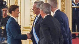 Brnabić prisustvovala inauguraciji predsednika Argentine