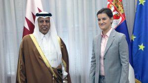 Brnabić razgovarala sa šefovima parlamentarnih delegacija Irana, Katara, Meksika i Kipra