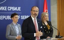 Brnabić sa Fabricijem i ambasadorima EU o izborima i evrointegracijama