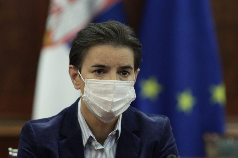 Brnabić sa ruskim ministrom o vakcini Sputnjik V