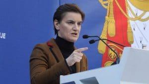 Brnabić u Antaliji: Priština se pozvala na Briselski sporazum