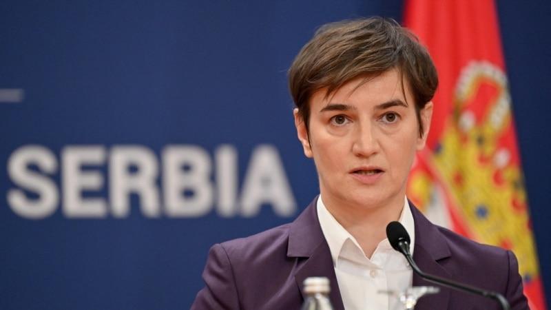 Brnabić u Briselu o reformama i dijalogu sa Kosovom