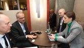 Brnabićeva u Davosu razgovarala s predstavnicima Filipsa i Simensa