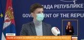 Brnabićeva i članovi kabineta testirani, rezultati negativni