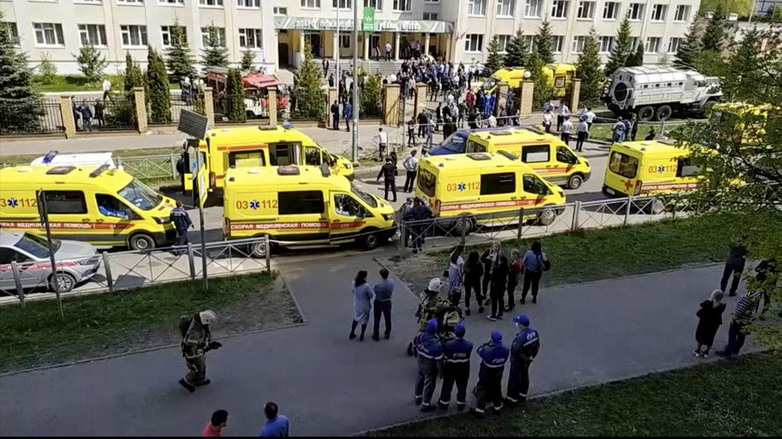 Petoro ranjene dece u Kazanju u ozbiljnom stanju, optuženi za napad priznao krivicu