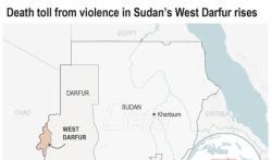 Broj poginulih u sukobima u zapadnom Darfuru u Sudanu povećao se na 160