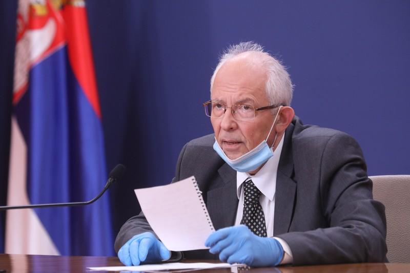 Broj zaraženih od koronavirusa u Srbiji i dalje u padu