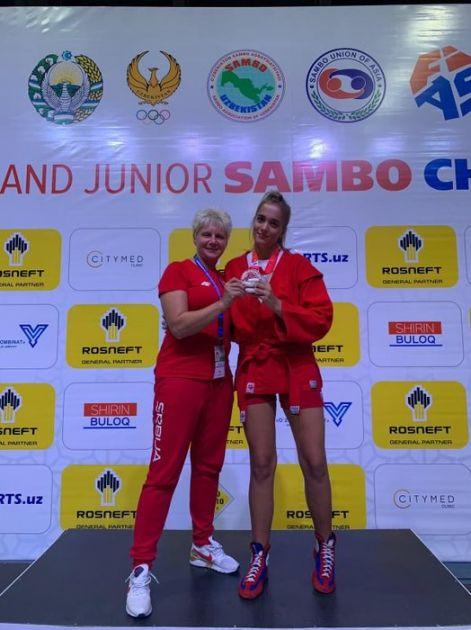 Bronza za Novosađanku na Svetskom prvenstvu u sambou za mlađe juniore