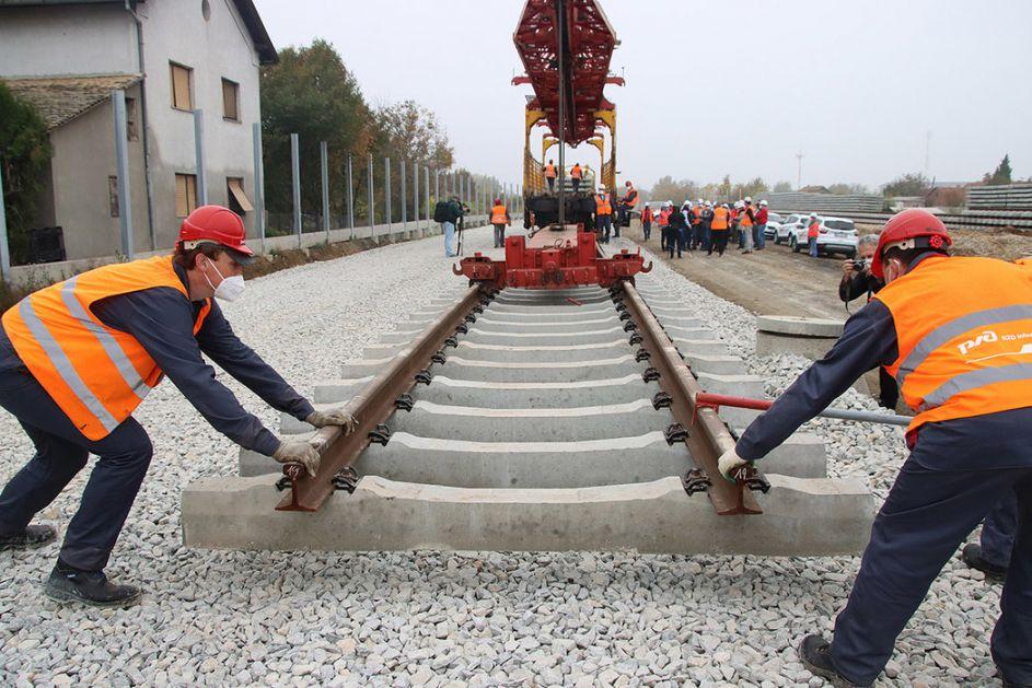 Brza pruga Beograd-Novi Sad biće najmodernija u Istočnoj Evropi