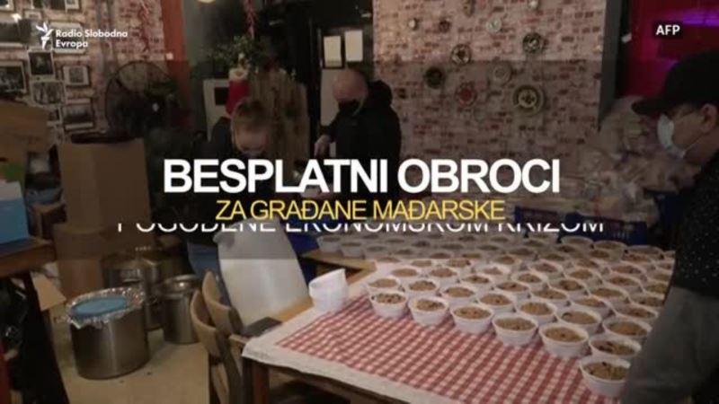 Budimpešta: Restoran koji nudi besplatnu hranu i nadu