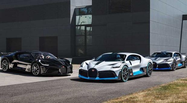 Bugatti pokazao prve Divo hiperautomobile namenjene kupcima