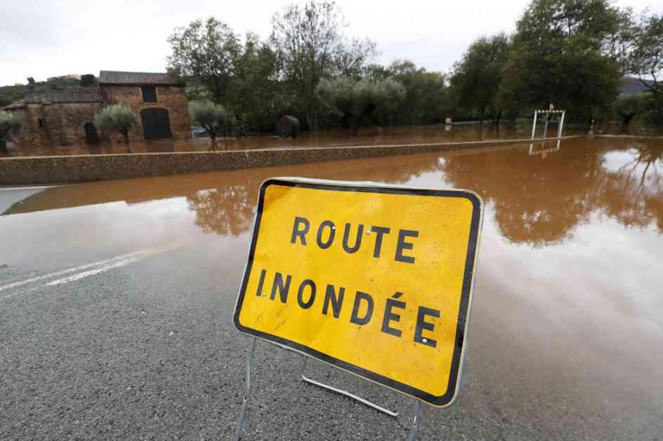 Broj stradalih u poplavama u Francuskoj smanjen na 10