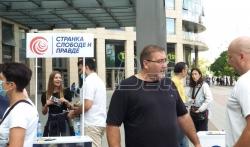Bulatović (SSP): Smenom vlasti prestaće pljačka paora (VIDEO)