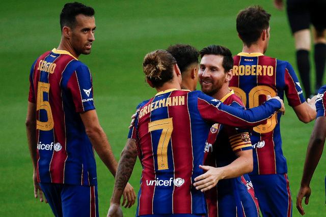 Bum! Najbolji Grizmanov gol u dresu Barselone! (video)
