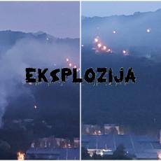 ČAČAK NOĆAS NEĆE SPAVATI: Posle eksplozije usledili POŽARI - stihija se širi, ekipe na terenu sprovode evakuaciju (FOTO)