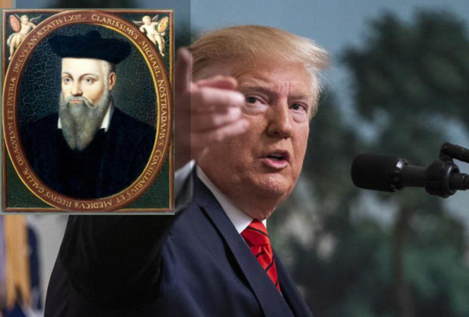 ČEKAJUĆI ATENTAT NA TRAMPA: Šta je Nostradamus predvideo za 2019. godinu, a što se još nije desilo! (VIDEO)