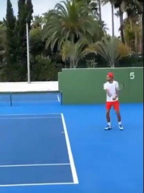 ČEKAJUĆI US OPEN: Novak sa NJIM vredno trenira u Marbelji (VIDEO)