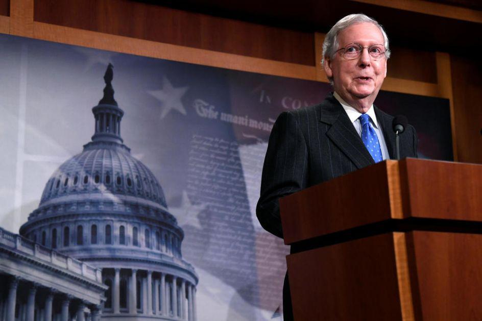 ČEKAO ZADNJI TRENUTAK DA UDARI NA TRAMPA: Lider republikanaca u Senatu ga optužio za nasilje u Kongresu