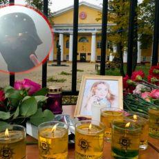 CELA RUSIJA DANAS PLAČE: Potresne slike ispred univerziteta u Permu - ruže, sveće i tužna lica na svakom koraku