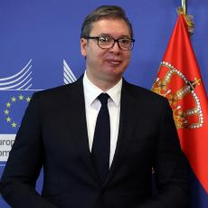 CELA SRBIJA SVIM SRCEM JE UZ VAS! Predsednik Vučić oduševljen izdanjem srpskih lavica protiv Španije (FOTO)