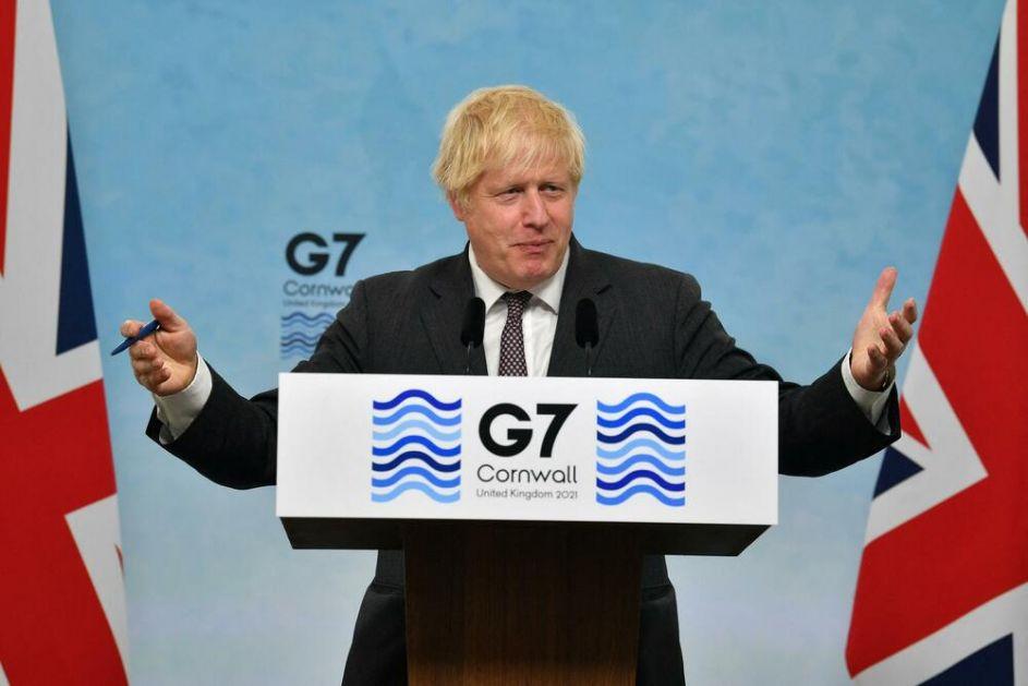 ČELNICI ZEMALJA G7 POSTIGLI DOGOVOR Džonson: Obezbedićemo milijardu doza vakcine protiv korone