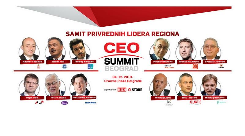 CEO Summit Beograd – Samit privrednih lidera regiona