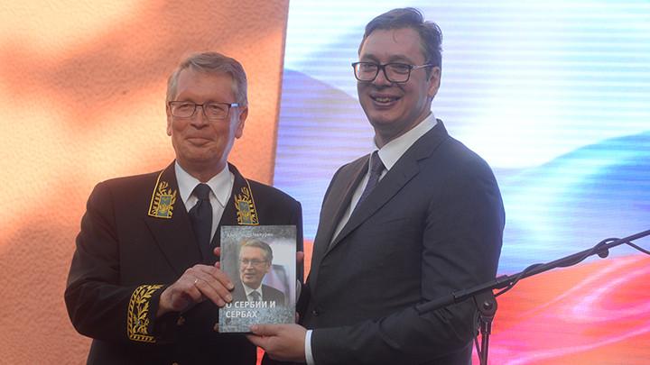 ČEPURIN: Vučić je mnogo uradio za odnose Srbije i Rusije! (FOTO)