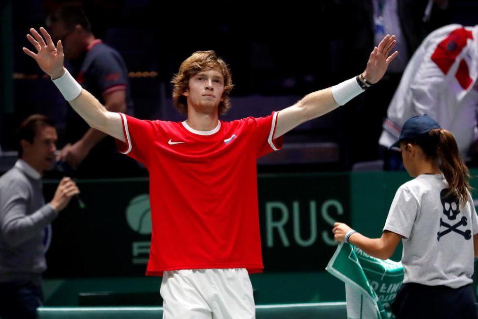 ČETVRTA TITULA OVE GODINE: Andrej Rubljov osvojio turnir u Sankt Peterburgu