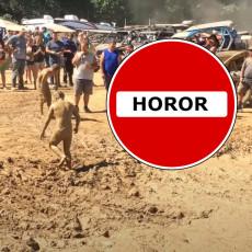 ČOVEK SE NABIO NA KOLAC, DRUGOM PREREZANO GRLO, ŽENA DAVLJENA DO NESVESTI: Ovo je pakao, a ne festival muzike! (VIDEO)
