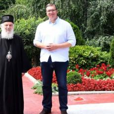 CRKVA I DRŽAVA STOJE RAME UZ RAME: Vučić i patrijarh Irinej saglasni u svim važnim pitanjima za naš narod
