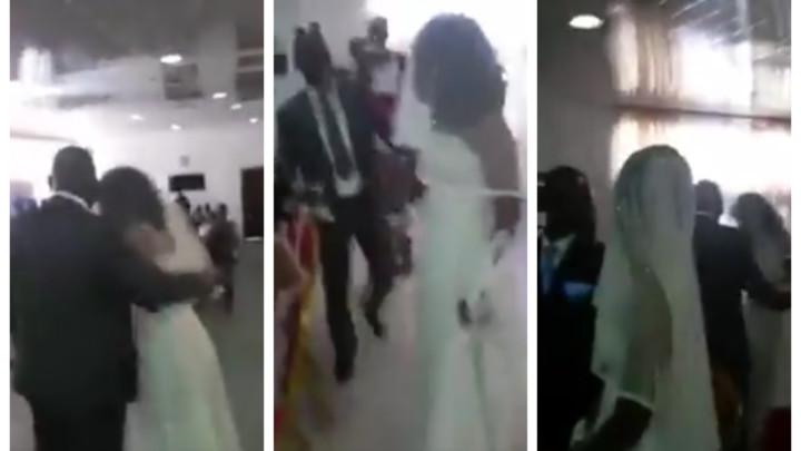 CRKVA SE ORILA OD POVIKA ŠOKIRAIH SVATOVA! Devojka u venčanici upala na svadbu svog ljubavnika, pa napravila SKANDAL! (VIDEO)
